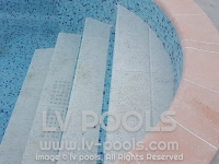 3 Rubni kamen za rimsko stepeniste bazena